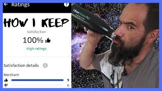 As a UberEats Driver How I Keep my Uber Eats Driver Rating above 95% in ubereats rating system