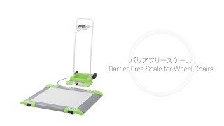 AD-6106R | Barrier-Free Scale for Wheelchairs from A&D